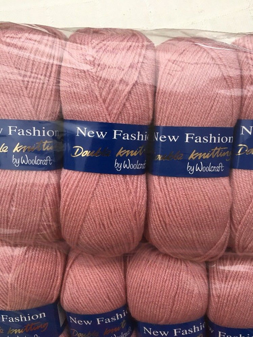 Woolcraft New Fashion Dk 500 Grams 5x100 Gram Balls Stunning Yarn