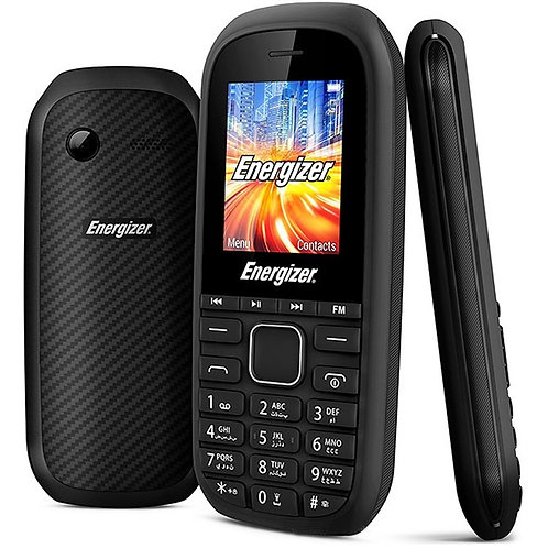 "Energizer - Energy E12 - 2G 1.8"" Dual-Sim Phone - Black"