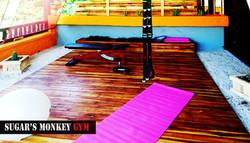 gym_space_sugars_monkey_playa_grande_surf_poshtel_hotel_surf_school_trip_surfcamp_costa_rica_tamarin