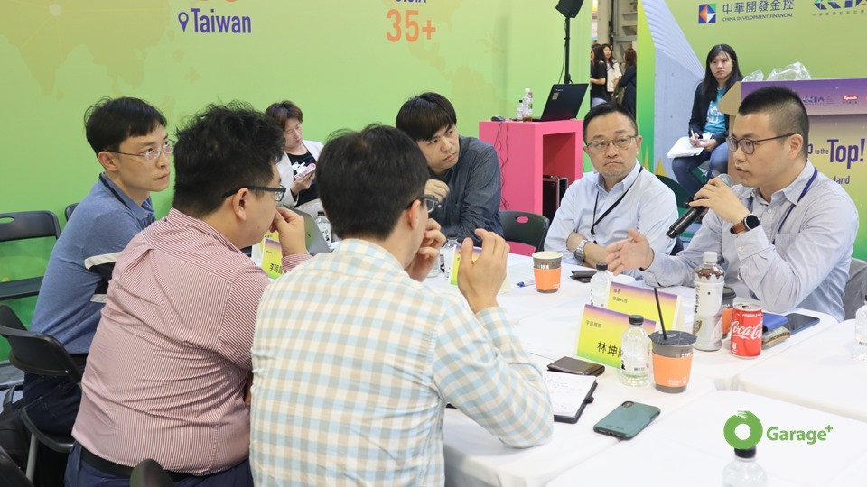 Calvin shared WASAI's experience in Japan mark(Source:Garage+)ets in the CEO Roundtable