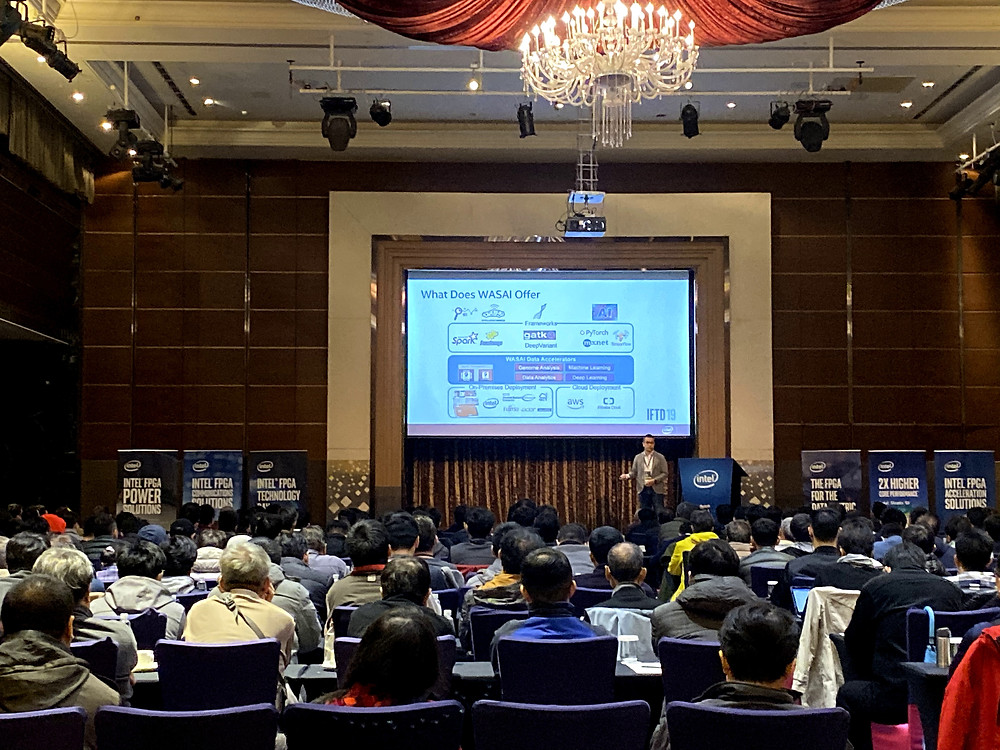WASAI introduced Big Data acceleration platform in IFTD Day Taipei 2019