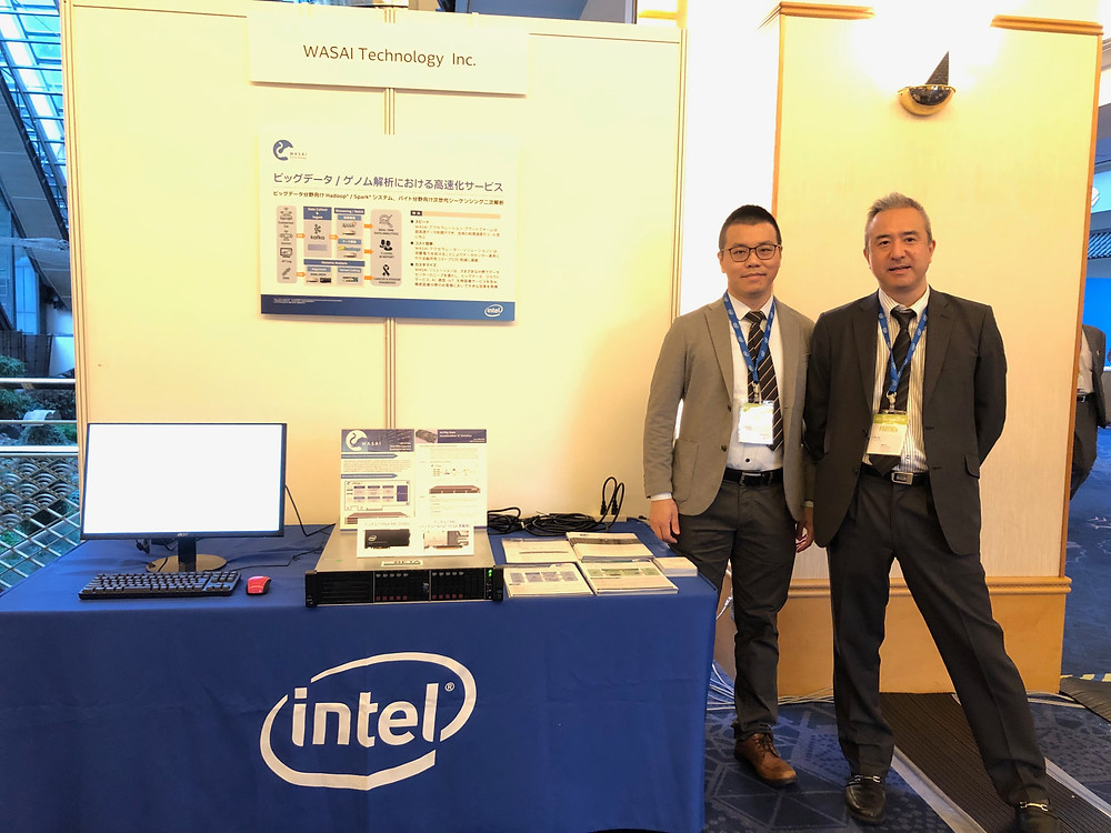 WASAI exhibited latest Intel FPGA card in IFTDay Tokyo 2019