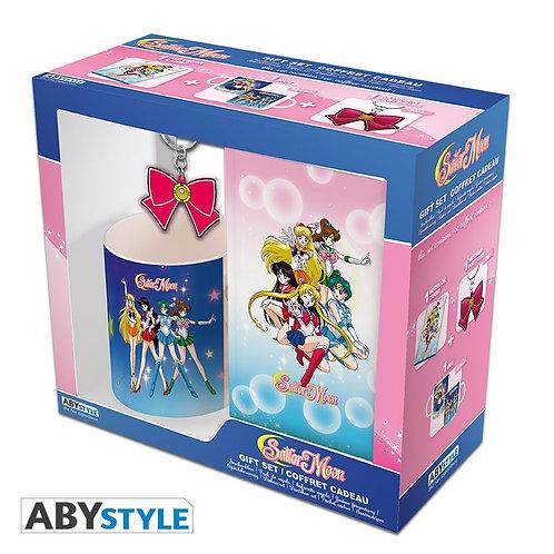 "SAILOR MOON - Pck Mug320ml + KeyringPVC + Cahier ""Sailor Moon"""