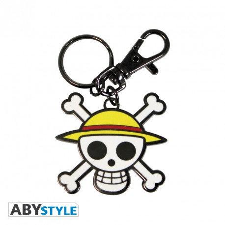 "ONE PIECE - Porte-clés ""Skull - Luffy"""
