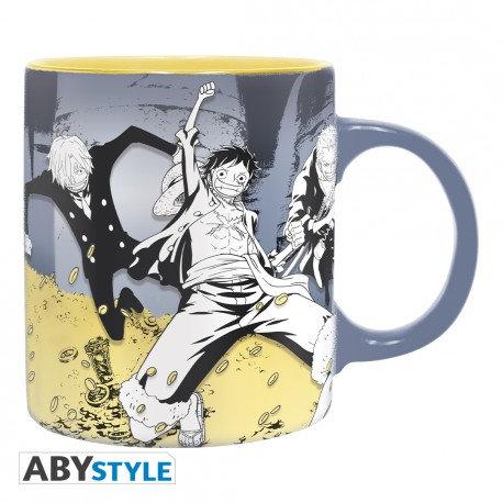 Mug one piece equipage Luffy