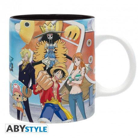 mug one piece luffy's crew