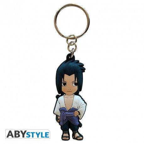 "NARUTO SHIPPUDEN - Porte-clés PVC ""Sasuke"""
