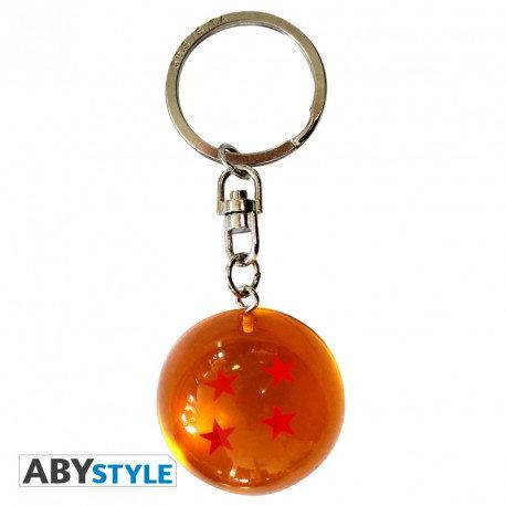 """DRAGON BALL - Porte-clés 3D """"DBZ/ Boule de cristal"""""""