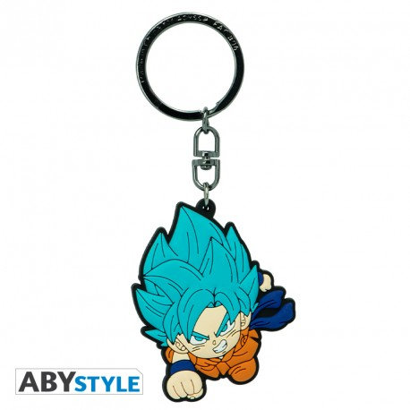 "DRAGON BALL SUPER - Porte-clés PVC ""Goku Saiyan Blue"""