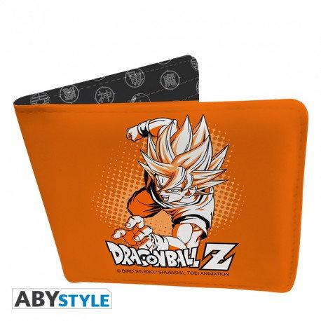 """DRAGON BALL - Portefeuille """"DBZ/Goku"""" - Vinyle"""