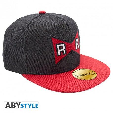 DRAGON BALL - Snapback Cap - Noir & Rouge - Red Ribbon