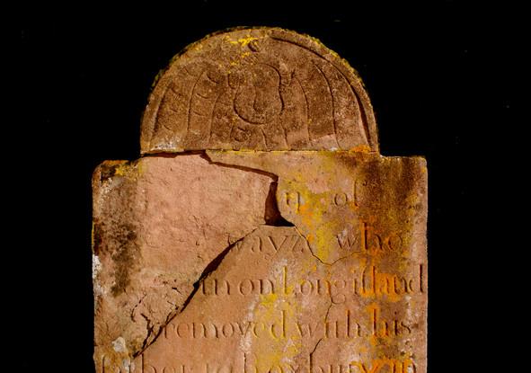 Israel Swayze grave marker