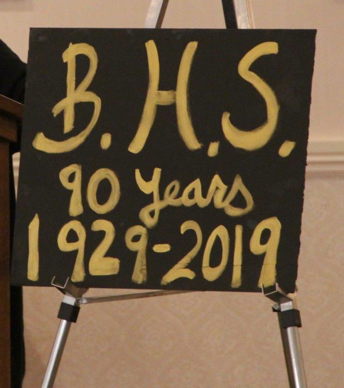 2019 BLAIRSTOWN HIGH ALUMNI DINNER