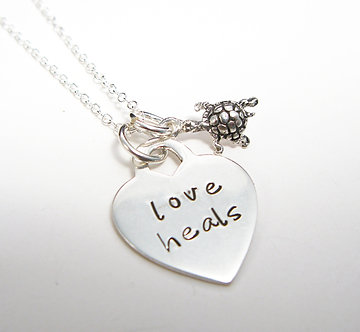 Love heals necklace