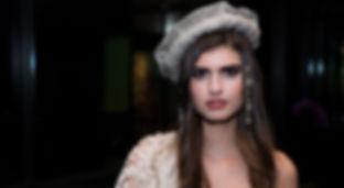 Astute Makeup for Fashion runway.North America Fashion week 2019