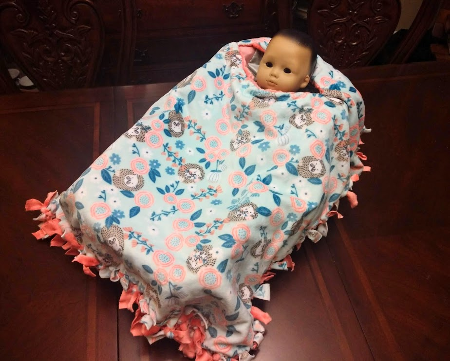 carseat poncho display