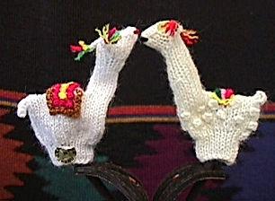 Alpaca Finger Puppets
