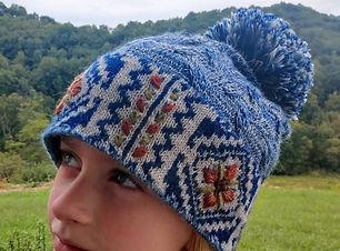 Frosty Alpaca Hat