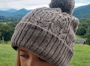 Alpaca Cable Hat