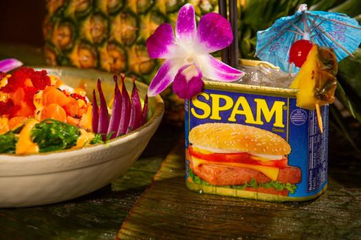 Big Island Poke and Our Royal Hawaiian Mai Tai