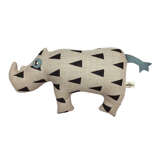 YASH, the Black Rhinoceros