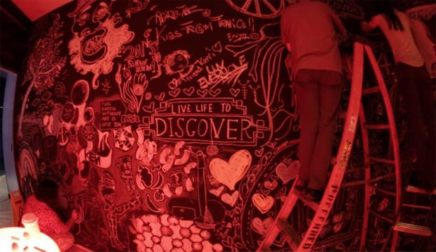 What Inspires You? Project at The Times Square Renaissance Hotel