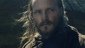 Portrait d'un guerrier médiéval