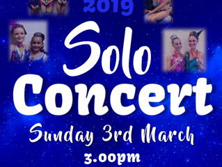2019 Solo Concert