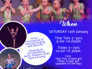 Tots and Tinies Workshop