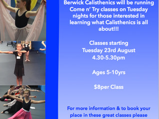 Come n' Try Classes
