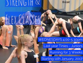 Stretch, Strength & Flex Classes