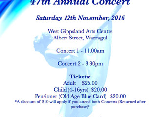 47th Annual Concert