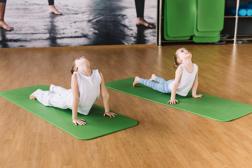 Pilates para niños con capacidades diferentes