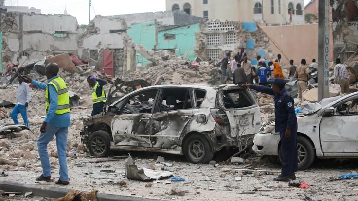 Somailia: Mogadishu Hotel Terror Attack