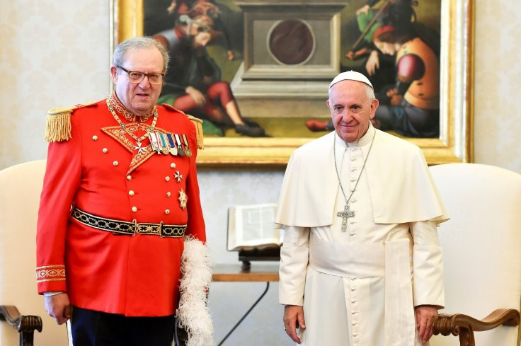 Pope Intervenes In Knights Of Malta, After Head Resigns Under Pressure