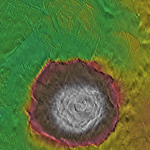 Mars Geography Scavenger Hunt
