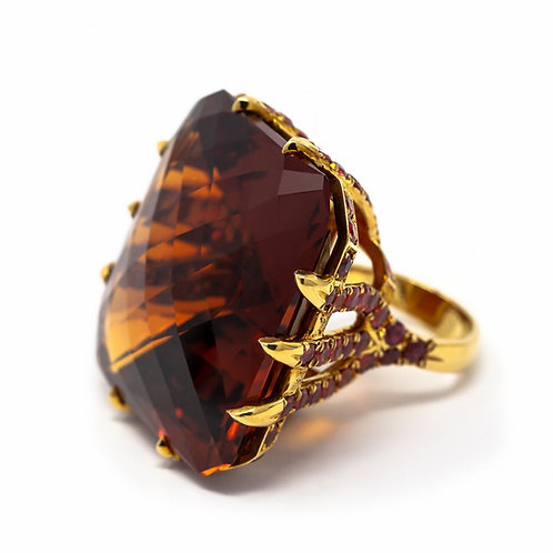 Couture Flames Ring