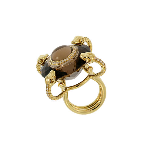 Couture Four-Snakes Ring