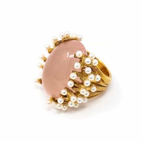 Couture Spring Love Ring