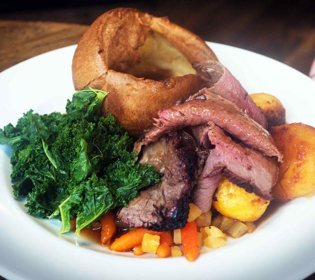 Thornhill Arms Pub Sunday Roast