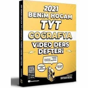 Benim Hocam Yayınları 2021 TYT Coğrafya Video Ders Defteri