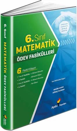 Aydın Yayınları Ortaokul 6 Matematik Ödev Fasikülleri