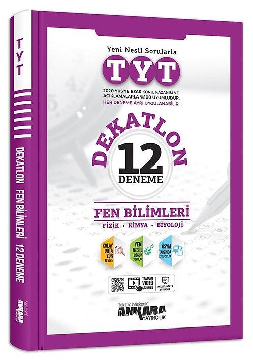 TYT Dekatlon Fen Bilimleri 12 Deneme Sınavı
