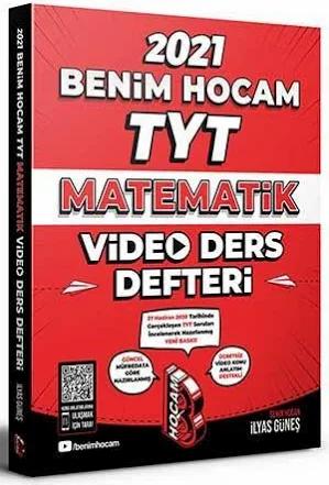 Benim Hocam 2021 TYT Matematik Video Ders Defteri Benim Hocam Yayınları