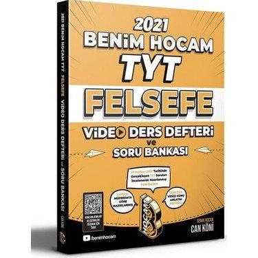 2021 TYT Felsefe Video Ders Defteri ve Soru Bankası Benim Hocam Yayınları