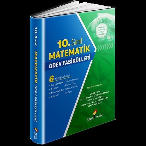 Aydın Yayınları Matematik Ödev Fasikülleri 10
