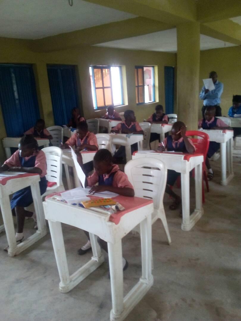 Prüfung in Ibadan