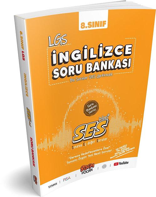 LGS 8.Sınıf SES Serisi İngilizce Soru Bankası Benim Hocam Yayınları