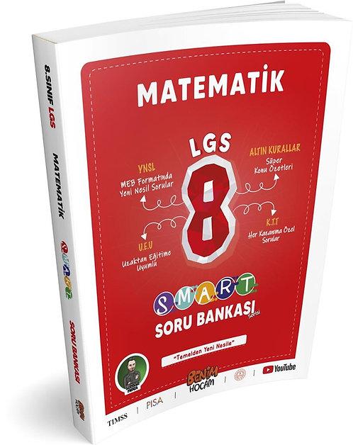 LGS 8. Sınıf Smart Serisi Matematik Soru Bankası Benim Hocam Yayınları
