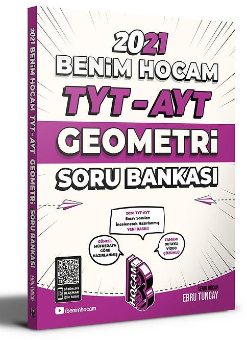 2021 TYT - AYT Geometri Soru Bankası Benim Hocam Yayınları